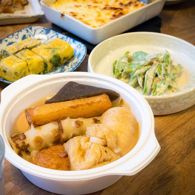 花くじらのおでん-------#おでん #oden #花くじら #家飲み #晩ごはん #dinner #晩酌 #おうちごはん #デリスタグラマー #beautifulcuisines #クッキングラム #テーブルフォト #料理好きな人と繋がりたい #instadrink #instafood #OLYMPUS #OMD #EM5 #LEICA DG SUMMILUX 25/F1.4