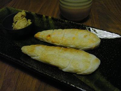 豆酩と笹かま