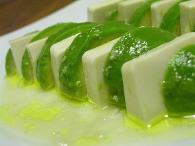 アボカドと豆腐の塩麹ドレ