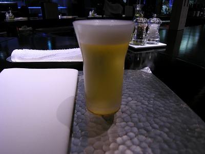 サービスビール♪