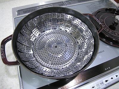 シュウマイ蒸し鍋