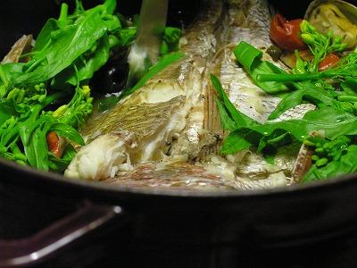鯛のアクアパッツア