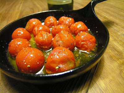 プチトマト焼き