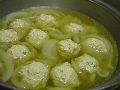 実山椒団子鍋