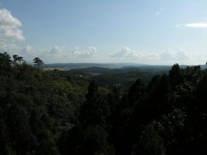 国上山からの風景