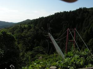 千眼堂つり橋