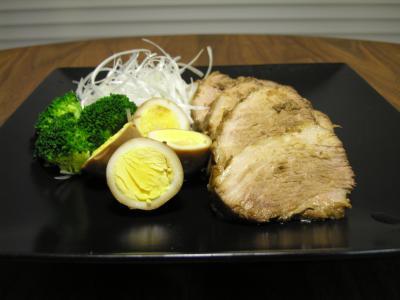 煮豚with煮卵