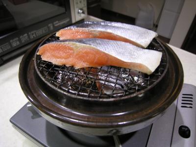 スモーク鮭