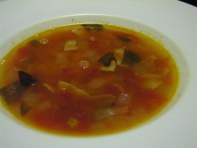 セージと白いんげんのスープ