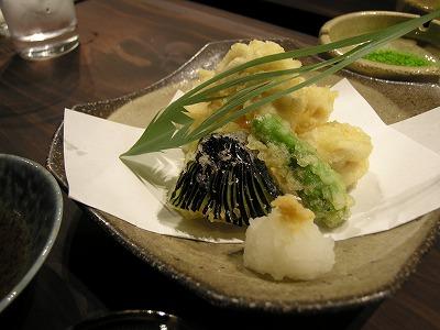 鱈白子天ぷら