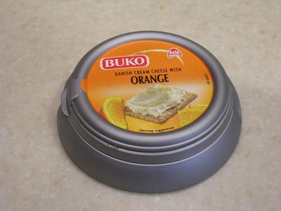 オレンジクリームチーズ