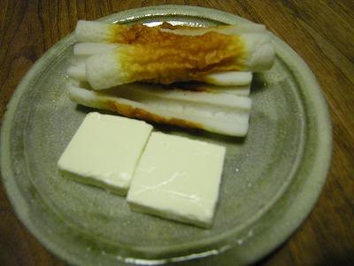 ちくわクリームチーズ