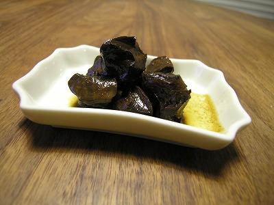砂肝のソース煮