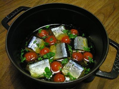 サンマのオイル煮
