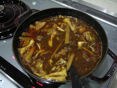 根菜と舞茸のビーフシチュー