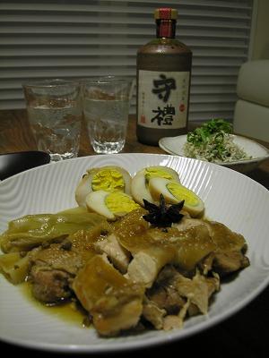 鶏と卵の香りしょうゆ煮