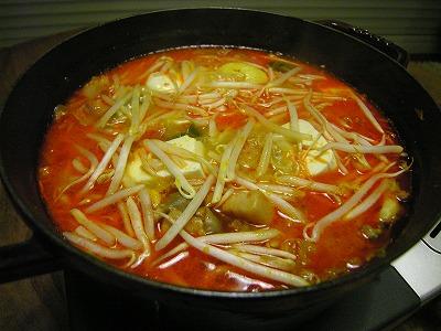 酒粕キムチ鍋