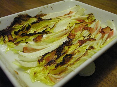 白菜のグリル