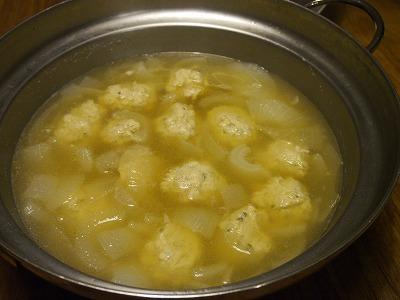 実山椒鶏団子鍋