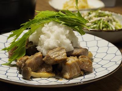 キハダマグロのおろしポン酢