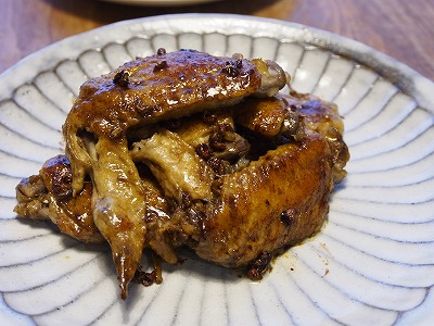 鶏手羽の中華焼き