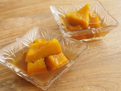 かぼちゃのアールグレー煮