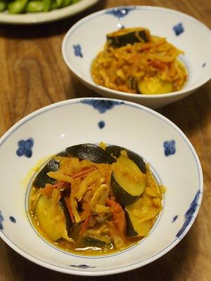 ズッキーニと切干大根のトマト煮