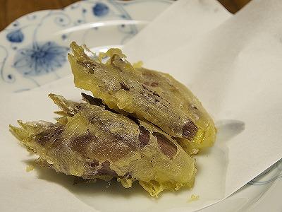 みょうがの天ぷら