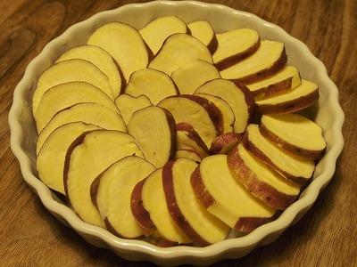 サツマイモのクリーム焼き